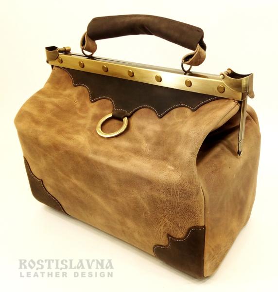 Саквояж кожаный «Антон Палыч»